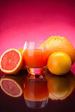 Grapefruit juice Royalty Free Stock Photography