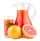 Grapefruit juice Stock Photography