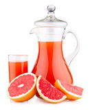 Grapefruit juice Stock Images
