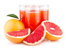 Grapefruit juice Royalty Free Stock Photos