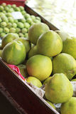 Grapefruit, mango for sale at Damnoen Saduak Floating Market - T Stock Image