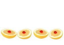 Grapefruit met Kersen royalty-vrije stock foto