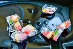 ice cubes. Stock Images