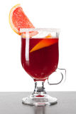 Grapefruit Mulled Wine (Punch) Royalty Free Stock Photography