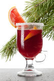 Grapefruit Mulled Wine (Punch) Royalty Free Stock Photo