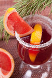 Grapefruit Mulled Wine (Punch) Royalty Free Stock Image
