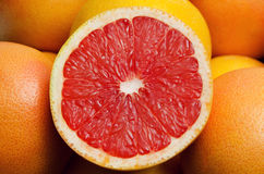 Grapefruit. Object on a white background Royalty Free Stock Image