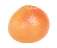 grapefruit odizolowywający różowy biel Fotografia Royalty Free