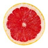 grapefruit odizolowywający plasterka biel Obrazy Royalty Free
