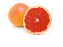 Grapefruit On White Background Royalty Free Stock Images