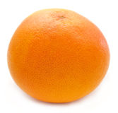 Grapefruit op een wit royalty-vrije stock foto's