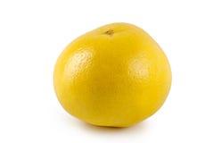 Grapefruit op een witte achtergrond royalty-vrije stock foto