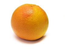 Grapefruit op wit. Stock Afbeeldingen