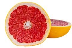 Grapefruit op witte achtergrond Royalty-vrije Stock Fotografie