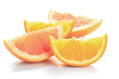 Grapefruit and orange Royalty Free Stock Photography