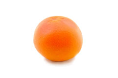 Grapefruit. Orange grapefruit on a clean white background Royalty Free Stock Images