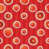 Grapefruit ornament Royalty Free Stock Photos