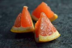 Grapefruit pieces Royalty Free Stock Image