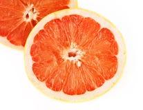grapefruit pokrajać zdjęcie stock