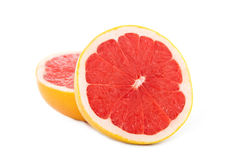 grapefruit pokrajać Obrazy Stock