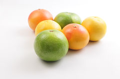 Grapefruit & Pomelo Triangle Royalty Free Stock Photography