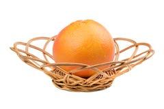 Grapefruit in rijs royalty-vrije stock fotografie