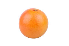 Grapefruit. Ripe yellow grapefruit on a white background Stock Images