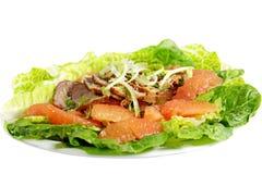 Grapefruit Salad Royalty Free Stock Photography