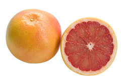 Grapefruit and section Royalty Free Stock Photos