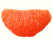 Grapefruit section Stock Image