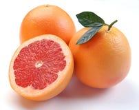 Grapefruit with segments Stock Photo