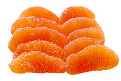 Grapefruit Segments Royalty Free Stock Images