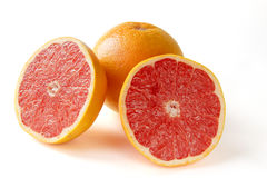 Grapefruit with segments Royalty Free Stock Photos