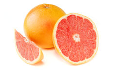 Grapefruit with segments Royalty Free Stock Photo