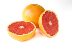 Grapefruit with segments Stock Photography