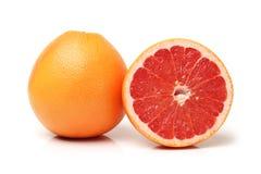Grapefruit with segments Stock Photos