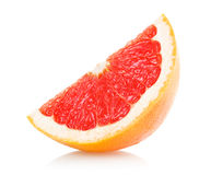 Grapefruit slice Stock Image