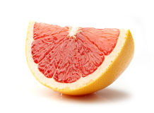 Grapefruit slice Royalty Free Stock Images