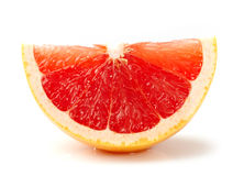 Grapefruit slice Stock Photo