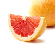 Grapefruit slice Stock Photos
