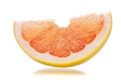 Grapefruit slice Royalty Free Stock Photo