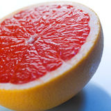 Grapefruit slice Royalty Free Stock Image