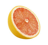Grapefruit Slice (with clipping path). Grapefruit Slice with a clipping path, on a white background. Isolation is on a transparent layer in the PNG format stock photos