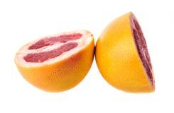 Grapefruit slice Stock Photo