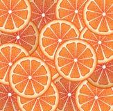 Grapefruit Slices Background Royalty Free Stock Photo