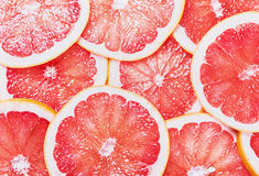 Grapefruit slices Royalty Free Stock Photography