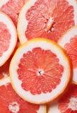 Grapefruit slices Stock Photos