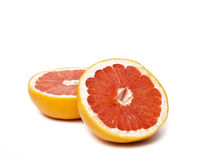 Grapefruit with slices Royalty Free Stock Photography