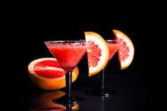 Grapefruit smoothie stock foto's
