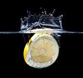 Grapefruit splash Royalty Free Stock Images